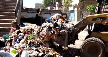 """استجابة لـ """"صحافة المواطن"""" رفع أكوام القمامة من  أسفل  كوبرى زنين بالجيزة."""