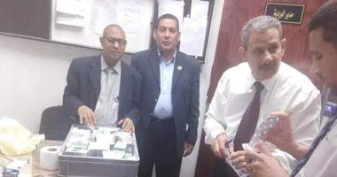 جمارك مطار الأقصر تحبط تهريب 10 آلاف قرص محظور بحوزة راكب يونانى