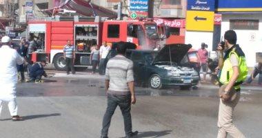 حريق سيارة-أرشيفية