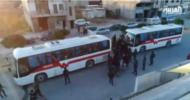 شاهد.. أوزبكستان تتسلم 148 طفلا وامرأة من عائلات داعش بسوريا
