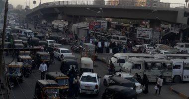 المرور يضبط 3445 مخالفة مرورية بمحاور و ميادين الجيزة خلال 24 ساعة