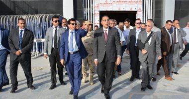 """رئيس الوزراء يطمئن على تجهيزات استاد القاهرة استعدادًا لـ""""الأمم الإفريقية"""""""