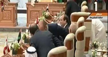انطلاق أعمال القمة العربية الطارئة بمشاركة الرئيس السيسى