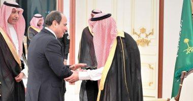 السيسى وسلمان يتفقان على تعزيز الجهود لمواجهة تحديات الأمن الإقليمى