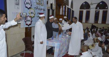 صور.. تكريم حفظة القرآن الكريم بمدينة بئر العبد بشمال سيناء