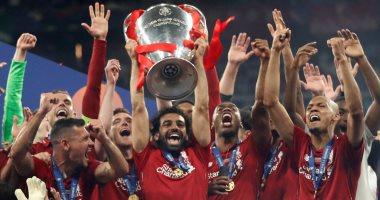 بصورة صلاح وميسي برشلونة يهنئ ليفربول بلقب دورى أبطال أوروبا