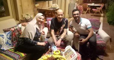 انفراد فيديو وصور اليوم السابع فى منزل حسن حسني بعد شائعة