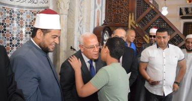 صور.. تكريم عدد من الأئمة وحفظة القرآن الكريم في احتفال ليلة القدر ببورسعيد