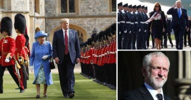 أين كانت ميجان ماركل خلال زيارة ترامب لبريطانيا؟.. السبب مفاجأة