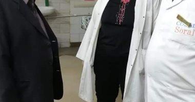 """صور.. وكيل """"صحة الغربية"""" يتفقد استعدادات المستشفيات لعيد الفطر"""