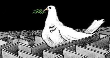 كاريكاتير الصحف السعودية.. صواريخ إيران تعكر صفو عيد الفطر