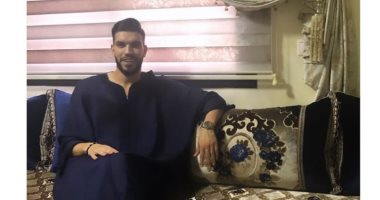 وليد أزارو يحتفل بعيد الفطر بالزى المغربى