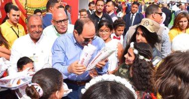 تعرف على نجوم الكرة فى احتفال رئيس الجمهورية بالعيد مع أبناء الشهداء