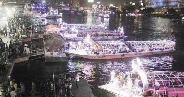 المراكب النيلية تحت مجهر شرطة المسطحات المائية خلال أيام العيد