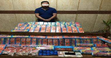 ضبط 23 ألف قطعة الألعاب نارية قبل ترويجها فى العيد بسوهاج