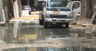 """""""صرف صحى الجيزة"""": سحب المياه من مسجد الوفاء بفيصل بعد شكوى مواطن"""