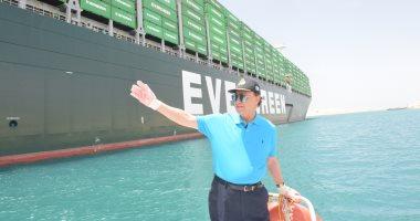 مميش: عبور 113 سفينة بحمولات 7.8 مليون طن فى أول وثانى أيام العيد