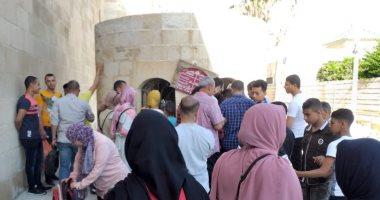 صور.. إقبال كبير على قلعة قايتباى فى ثانى أيام عيد الفطر المبارك