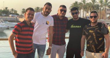 ناصف عبده.. يشارك بصورته من الكويت: وحشانى الناس الطيبين والأهرامات والنيل