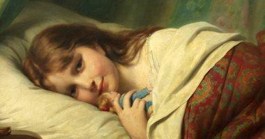 قصة لوحة.. ابتسامة قبل النوم لـ الفنان السويسرى فريتز بوهلر