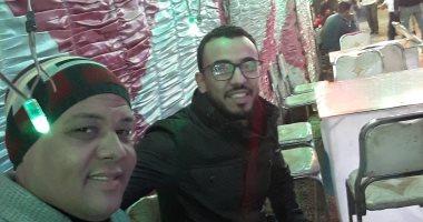 """العيد فرحة.. إبراهيم جبر من الساحل: """"أحلى عيد مع صديقى  أبو عدى"""""""