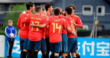 إسبانيا تتصدر تصفيات أوروبا بالعلامة الكاملة بثلاثية ضد السويد.. فيديو