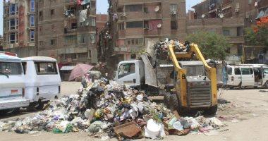 محافظ الجيزة: رفع 25 ألف طن مخلفات من الشوارع خلال عيد الفطر المبارك