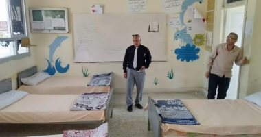 صور.. توافد مراقبى الثانوية العامة على الاستراحات بشمال سيناء