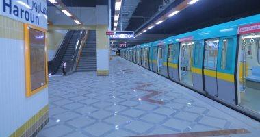 المترو ينقل القطار المكيف الجديد الثانى لورش شبرا لاختباره قبل تشغيله
