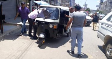 سائق وعاطل يعترفان بتفاصيل سرقتهما سائق توك توك بالإكراه فى الهرم