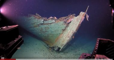 صور.. مستكشفون يعثرون بالصدفة على سفينة من القرن الـ19 بخليج المكسيك