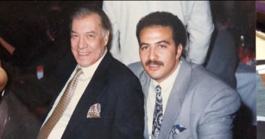 مجدى الهوارى يسترجع ذكرياته مع وحش الشاشة فريد شوقى بصورة نادرة