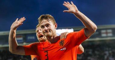 البرتغال ضد هولندا.. دى ليخت يحسم مستقبله بعد نهائى دوري امم اوروبا