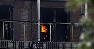 حريق يلتهم محتويات شقة فى المحلة وإصابة صاحبها بحروق