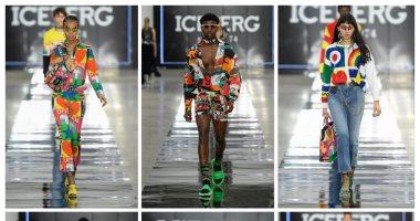 """ألوان النيون و""""ميكى ماوس"""" أبطال عرض أزياء Iceberg لربيع 2020"""