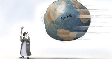 كاريكاتير الصحف الإماراتية.. إيران وحيدة فى مواجهة الضغوط الدولية