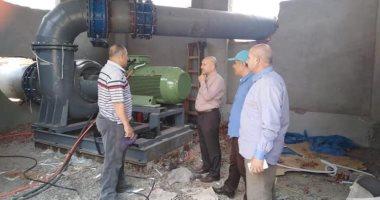 الرى: تشغيل 6 محطات خلط مياه بكفر الشيخ