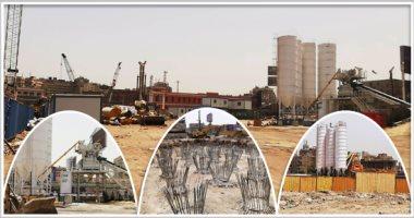 الحلم يتحقق على أرض الواقع.. إنهاء 3 محطات خرسانة وبدء الإنشاءات بمثلث ماسبيرو