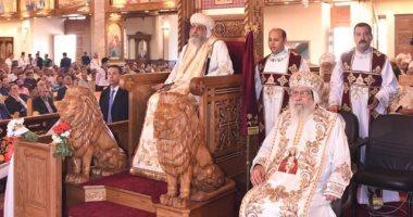 البابا تواضروس عن كنيسة العذراء بالسادات: كنت أصلى هنا كخادم صغير ..والعطاء هو الفرح