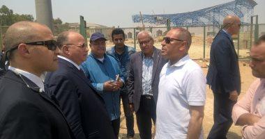 محافظ القاهرة يتفقد محيط استاد القاهرة للاطمئنان على الاستعدادات لأمم أفريقيا