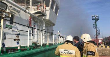 مصرع شخصين وإصابة 3 آخرين فى انفجار بناقلة نفط روسية