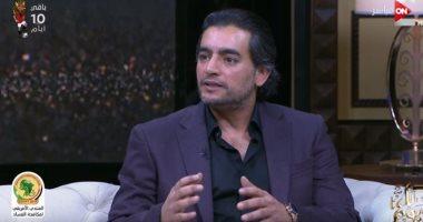 """فيديو.. هانى سلامة لـ""""كل يوم"""": مسلسل """"قمر هادى"""" غير مألوف فى الدراما المصرية"""