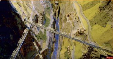 شاهد أكبر نموذج لسكة حديد فى العالم.. يتضمن 50 ألف شارع