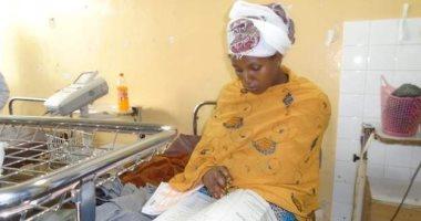 صور.. سيدة إثيوبية تؤدى امتحان الثانوية العامة بعد نصف ساعة من ولادة طفلها