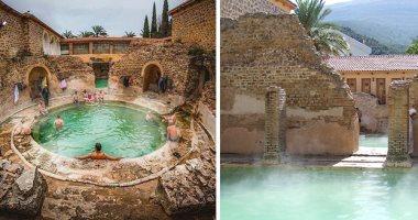 حمَّام الصالحين تركة الرومان بالجزائر عمره 2000 عام ويجذب 700 ألف زائر سنويا