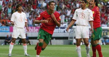 زى النهاردة من 15 سنة.. رونالدو يسجل أول هدف دولى مع البرتغال