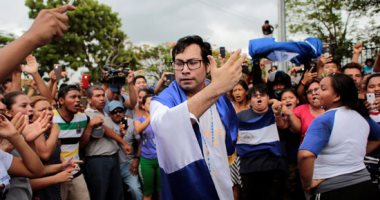 صور.. المعارضة فى نيكاراجوا تحتفل بإطلاق سراح 50 معتقلا سياسيا