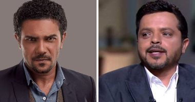 """آسر ياسين مهنئًا هنيدى على فيلمه الجديد"""" كينج سايز"""": مبروك يا جامد"""