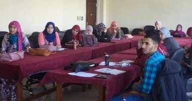 دورة تدريبية  لتعليم طلاب حقوق بنها العمل داخل المحاكم