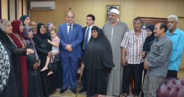 محافظ الغربية: توفير مساكن إيواء عاجلة لـ 14 أسرة بطنطا
